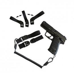 Cytac Système de rétention dragonne pour arme de poing / GBB