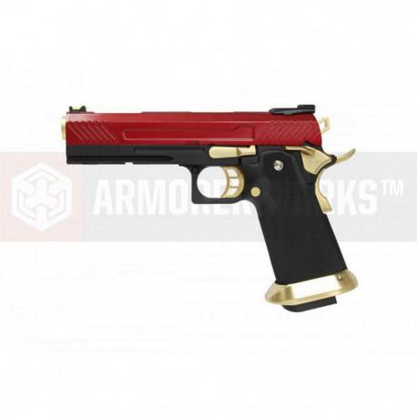 AW GBB HX1104 Red/Gold full slide
