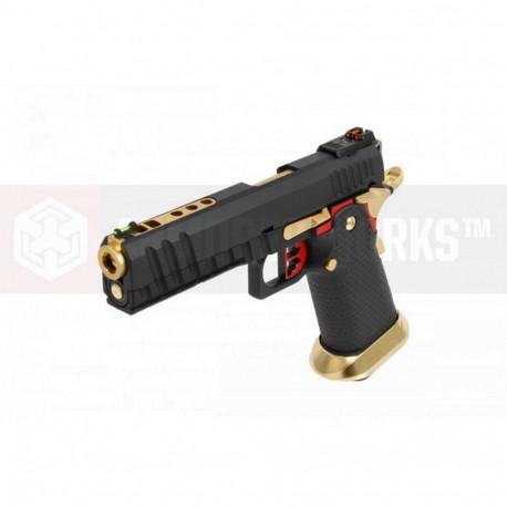 AW GBB HX2002 Black/Gold/Red full slide