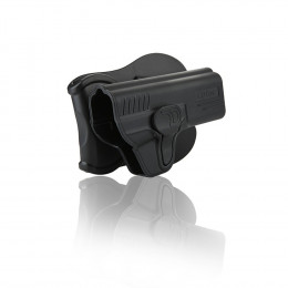 Holster polymer paddle droitier pour S&W M&P9