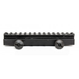 Rehausseur de rail picatiny 145mm