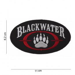 Patch logo Blackwater avec velcro en tissus