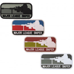 Pach PVC avec velcro Major league Sniper