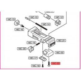 Visse pour sélecteur stoppeur pour Glock 18C Tokyo Marui