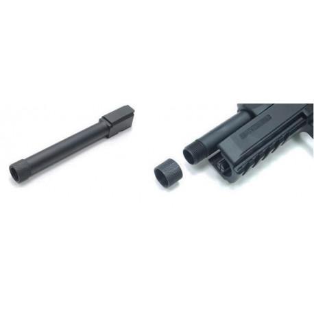 Canon externe en métal fileté pour CZ-P09
