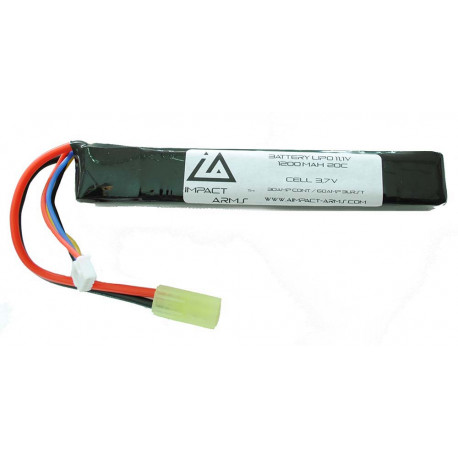 Batterie Lipo 11,1V 1200Mah 20C type stick