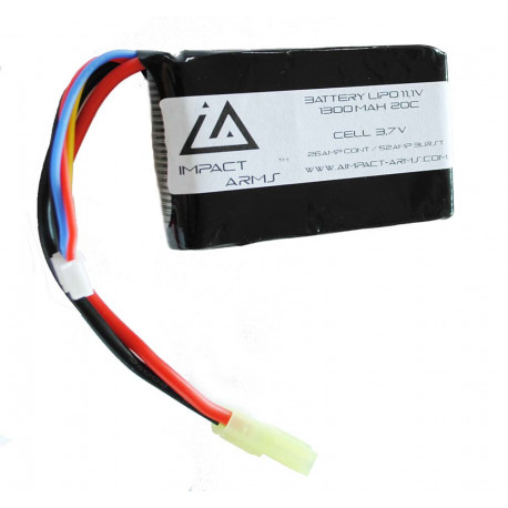 Batterie Lipo 11,1V 1300Mah 20C type stick
