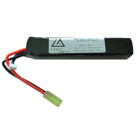 Batterie Lipo 7.4V 2400Mah 20C type stick