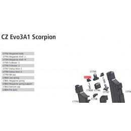 Arrêtoir de bille du chargeur Scorpion EVO3 midcap