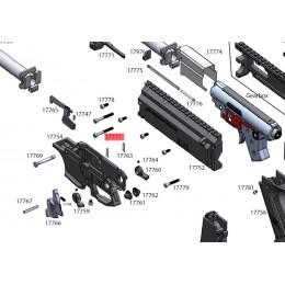 Visserie M4x25 DIN912 pour scorpion EVO3 série