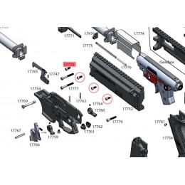 Visserie M4x12 DIN912 pour scorpion EVO3 série