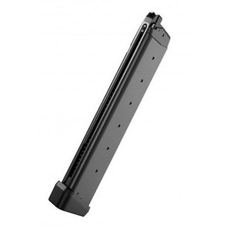 Chargeur Hi-cap pour GBB Glock G17/G18C/G22/G34/G26 advance