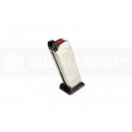 Chargeur silver AW pour réplique VX ou Glock WE
