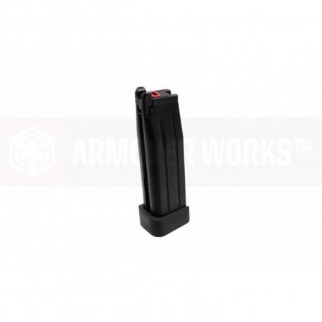 Chargeur noir AW DS pour réplique Hi-capa salient arms