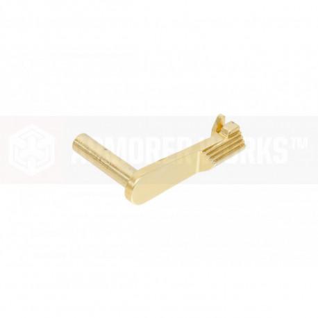 AW Arrêtoir de culasse de couleur gold pour HX et Hi-capa série