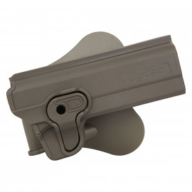 "Holster polymer paddle droitier pour 1911 5"" en Dark earth"