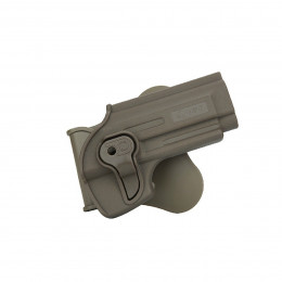 Holster polymer paddle droitier pour Beretta M92 /92FS en dark earth