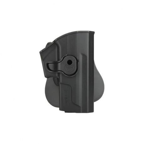 Holster polymer paddle droitier noir pour Sig Sauer SP2022
