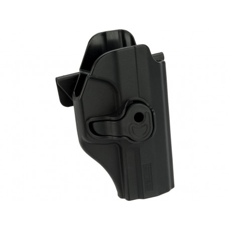 Holster polymer paddle droitier noir pour Walther P99