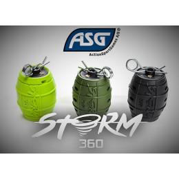 Grenade impact au gaz Strom 360 en divers couleurs