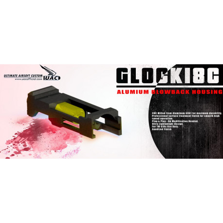 Ultra lightweight blowback housing pour Glock 18C