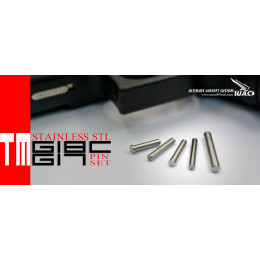 Stainless steel pin set for Glock 17 and 18C