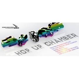 Chambre hop up CNC pour Tokyo marui Glock G17/G18C/G22/G26/G34