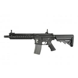 """Réplique d'assaut M4 MK18 MOD1 9"""" AEG Noir ECEC Système"""
