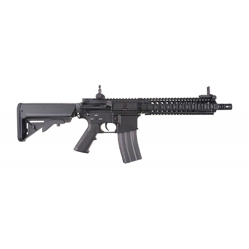 "Assault Rifle M4 MK18 MOD1 9"" AEG Black ECEC System"