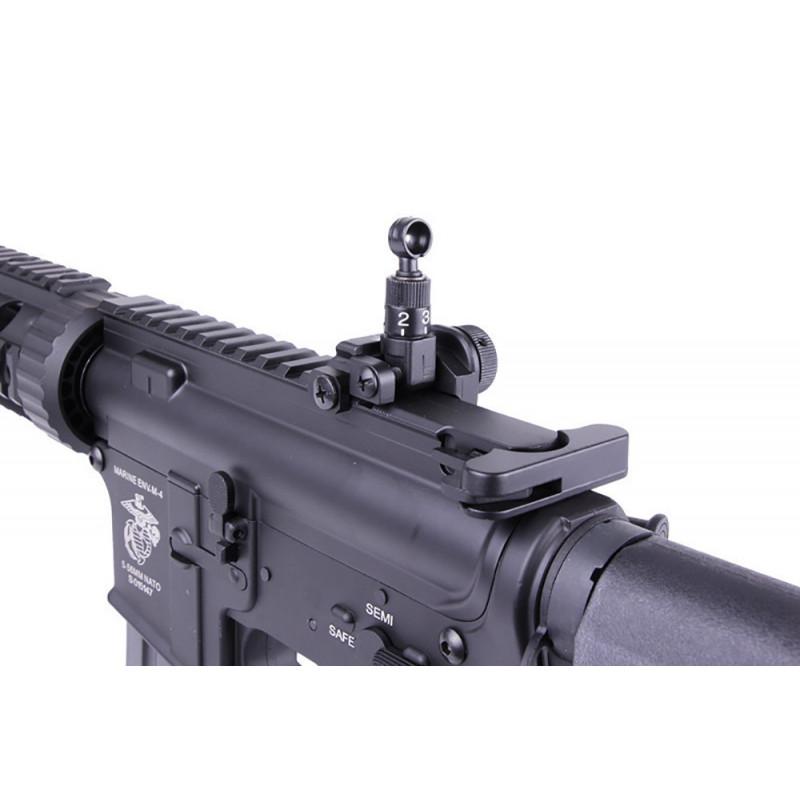 """Réplique D'assaut M4 Special Operation 7"""" AEG Noir ECEC"""