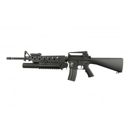 Assault rifle M16A3 with M203 AEG black ECEC System