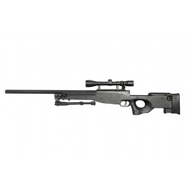 Sniper L96 EC501D with Bipod et scope black