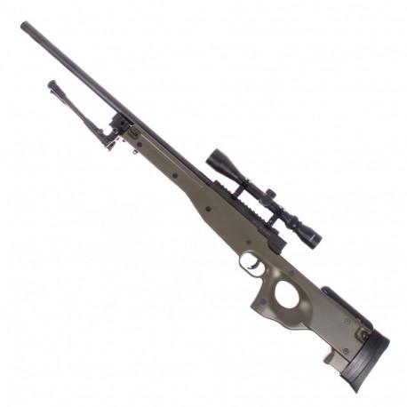 Sniper L96 EC501D with Bipod et scope Olive Drab