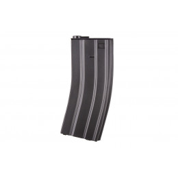 Chargeur métal M4/M16 Midcap 160 billes Noir