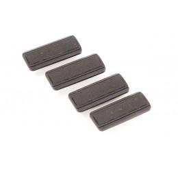 Set de 4 couvre rail ABS M-LOK Noir
