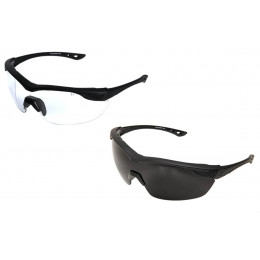 Overlord Glasses with lens Clear and G15 Black