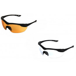 Overlord Glasses with lens Tiger's Eye and Clear