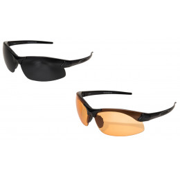 Sharp Edge Glasses with lens Tiger's Eye and G15