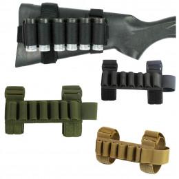 Porte cartouche pour crosse de shotgun en divers couleurs