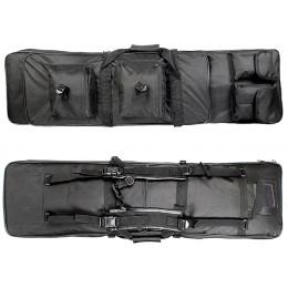 Housse de transport 85cm pour 2 répliques + accessoires Noir
