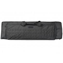 Tactical Gun bag with MOLLE 100cm Black