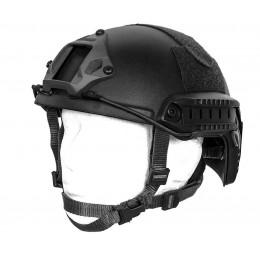 Impact ballistic helmet Black