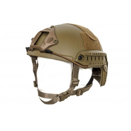 Casque Impact ballistic Dark Earth