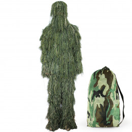 Ghillie Suit Impact Woodland