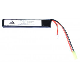 Batterie Lipo 7,4v 1400mah 20c type stick