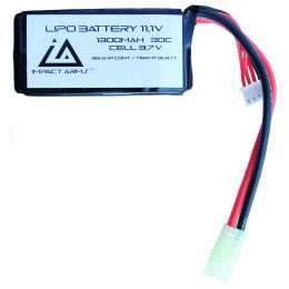 Battery Lipo 11,1V 1300Mah 30C type peq