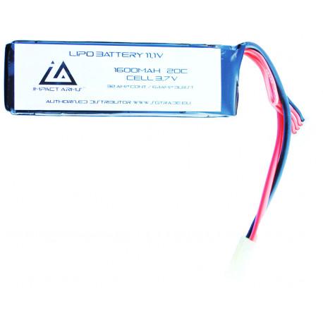 Batterie Lipo 11,1V 1600Mah 20C type mini