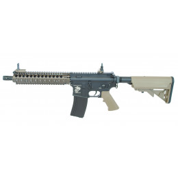 """Réplique d'assaut M4 MK18 MOD1 9"""" AEG tri-color ECEC Système"""