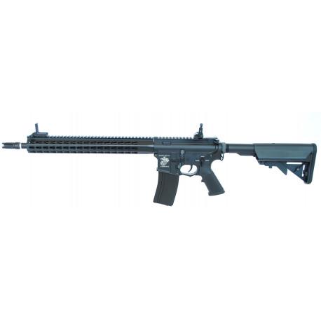 "Assault rifle M4 SR16-E3 URX4 14,5"" AEG black ECEC System"