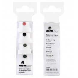 Pack 5pcs Cap Diffuser Mix for Montana spray paint